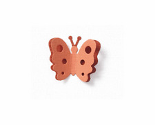 QuicKutz Lifestyle Crafts 2x2 Double Die  BUTTERFLY  Pop-Ups, Polka Dots KS-0919