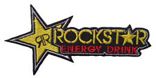 New Rockstar Energy Motocross ATV Racing embroidered iron on patch. (i95)