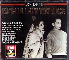 DONIZETTI Lucia di Lammermoor MARIA CALLAS DI STEFANO KARAJAN 2CD Zaccaria Villa