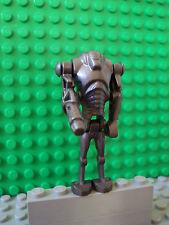Lego Star Wars Minifig ~ Super Battle Droid w/Arm Cannon ~ Pearlized Dark Gray