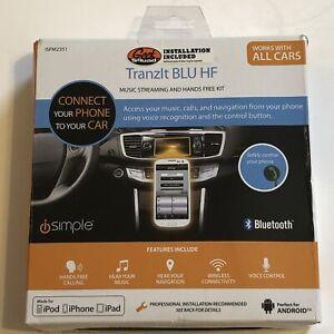 iSimple ISFM2351 TranzIt BLU HF Bluetooth Enabled FM Transmitter Used Preowned