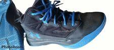 Under Armour Jet 2019 Black/blue Grade School Kid Basketball Shoes