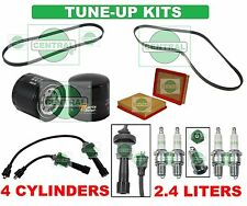 TUNE UP KITS for 99-05 SONATA MAGENTIS OPTIMA: SPARK PLUG WIRE SET BELT & FILTER