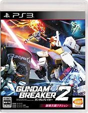 USED PS3 Gundam Breaker 2 Bandai namco entertainment play station 3 #