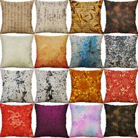 Chinese Style Cotton Linen Pillow Case Sofa Throw Cushion Cover Home Decor 18''