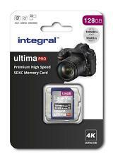 128GB PREMIUM HIGH SPEED SDXC V30 UHS-I U3 SD Memory Card for 4K Ultra HD Video