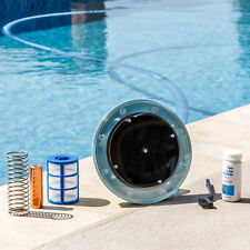 Solar Pool Purifier Ionizer System Kills Algae Reduce Chemicals Use in Pool Kit