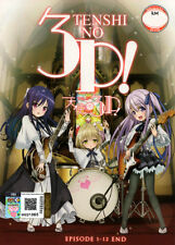 Tenshi no 3P! [ Angel's 3Piece! ] DVD 1-12 (Japanese Ver.) Anime - US Seller