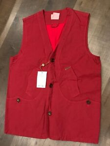 BERETTA - Shooting Vest - Large - Red - Clays - Trap - $140