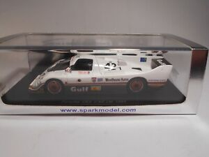 "Spark (S2001) - 1/43 Scale - Porsche - CK5 - Le Mans - 1983 - ""Gulf"" - #42 - MB"