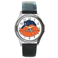 chicago bears watch (round metal wristwatch)
