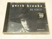 "Garth Brooks No Fences CD {""Two albums in one"" 'Garth Brooks' & 'No Fences'}"