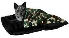 PetFlys PET POCKETS Dog Cat Burrowing Pillow Bed * Army Camouflage Camo Bedding
