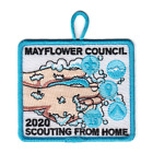 Mayflower Council BSA 2020 Virtual Scouting from Home Patch, MA Boy Scouts