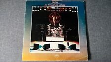 RUSH - ALL THE WORLD'S A STAGE .     2LP.