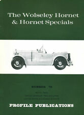 AUTOMOBILE PROFILE 70 WOLSELEY HORNET & SPECIALS SALOON_COUPE_OPEN TWO-SEATER LI