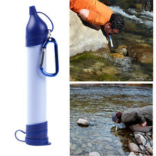 Personal Water Purification Filter Portable Drinking Purifier Survival 99.99%