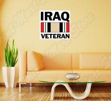 """Iraq Veteran US Army War United States Wall Sticker Room Interior Decor 22""""X22"""""""