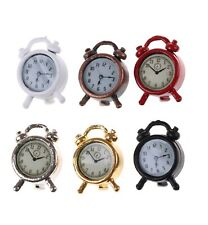 Dolls House Miniature 1/12th Scale Alarm Clock - Various Colours Available SK009