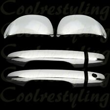 FOR 2012 2013  Honda Civic Coupe Chrome 2 Door Handle Mirror Covers Trims