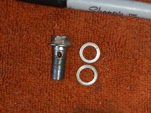 Rear brake banjo bolt 1991 91 Suzuki DR350R DR350 DR 350
