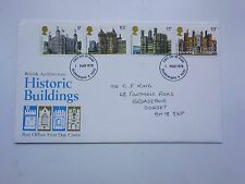 Great Britain First Day Cover Historic Buildings 1978