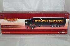 Corgi Hauliers of Renown 1.50 Mercedes Box Trailer in Rawlings Livery CC13813