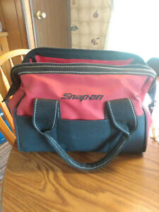 Snap On Tools  CANVAS BAG Red/Black Measures 14 x 9 x 9
