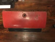 73-87 Chevrolet GMC C10 C20 Glove Box RED Used OEM 343915