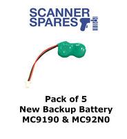 NEW Lot of 10 x Symbol Motorola MC9090 Backup Battery MC9000 MC9060 MC3090 2 Pin