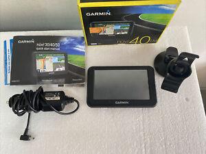 Used Garmin Nuvi 40LM 4.3-inch Portable GPS Navigator Lifetime Maps