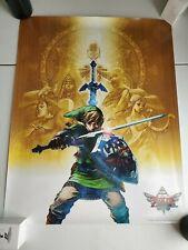 The Legend of Zelda Skyward Sword Poster - Club Nintendo Reward