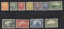 Canada stamp #149-159 MLH VF