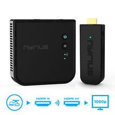 Transmisor Inalámbrico Nyrius Pro & Receptor HDMI para transmitir vídeo HD 1080p 3D