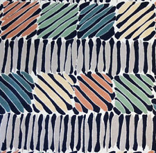 """5th avenue Zebra color blocks COTTON Designer Upholstery Fabric by the yard 54"""""""