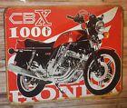 Plaque metal vintage Honda 1000 CBX