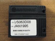 Navionics Classic NavChart Card Bar Harbor-Bath US063D08 Jan 1995