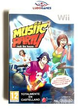 Musiic Party Rock House Music SP Wii Nuevo Precintado Nintendo Videojuego Sealed