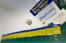 "Green Stuff 12"" Kneadatite Blue/Yellow Epoxy Putty Tape Warhammer 40k Greenstuff"