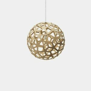 David Trubridge Coral 400 Pendant Natural Bamboo - new in the box  15.8 diameter