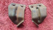 1941 1942 1946 CHEVY GMC PICKUP TRUCK FRONT HOOD LATCH CATCH PAIR