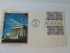 People's Right To Petition Combo Stamp Line Pair Sc#1617lL & #1617 Colorano 1977