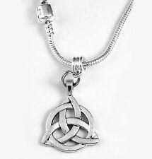 Celtic Knot Necklace Irish Gift Celtic chain Celtic Knot Present Celtic Pendent