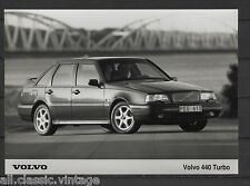 PRESS - FOTO/PHOTO/PICTURE - Volvo 440 Turbo