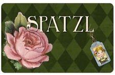 Süßes Vintage SPATZL Roses Chopping Board SCHNEIDEBRETT / Frühstücksbrett Ro