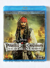 Pirates of the Caribbean on Stranger Tides Blu-ray DVD English French Spanish