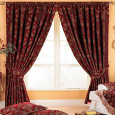 Polyester Ready Made Floral Traditional Curtains & Pelmets