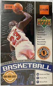 1998-99 Upper Deck MJ Access Basketball Sealed Box UD - Michael Jordan