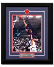 Vince Carter USA Basketball Autographed Spotlight 2000 Olympic Dunk 23x19 Frame
