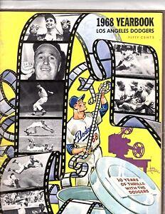 Dodgers year book Carl Hubenthal 1968 OZ320